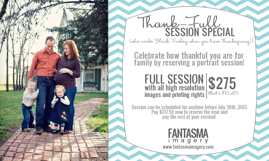 Thank-FULL Session Special!